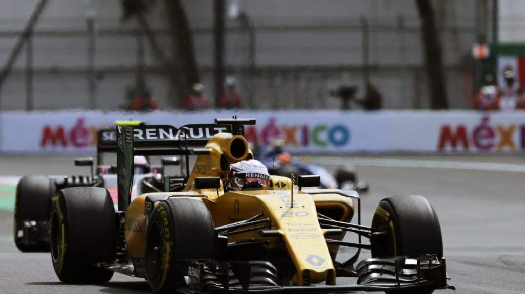 MEXICO CITY (Oct. 30, 2016) – Renault Sport Formula One Team's Jolyon Palmer put in a strong and strategic charge from the back of the grid to take fourteenth in today's Formula 1 Gran Premio de México. Jolyon started P21 and made a pit stop under the safety car at the end of the first lap. This meant he used Pirelli's medium compound tires for a massive 70-lap stint. Kevin Magnussen started from P14 and his race strategy was modified from a one to a two-stop strategy, with a final stint on the super soft tires.