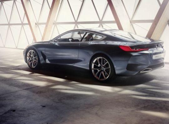 BMW Serie 8 Concept, en el Concorso d'Eleganza Villa d´Este
