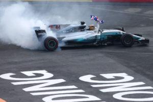 Formel 1 - Mercedes-AMG Petronas Motorsport, Großer Preis von Mexiko 2017. Lewis Hamilton Formula One - Mercedes-AMG Petronas Motorsport, Mexico GP 2017. Lewis Hamilton