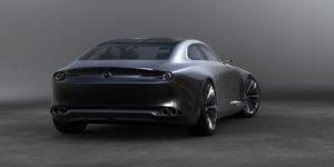 Mazda vision coupe trasera
