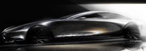 Mazda vision_coupe_Sketch1