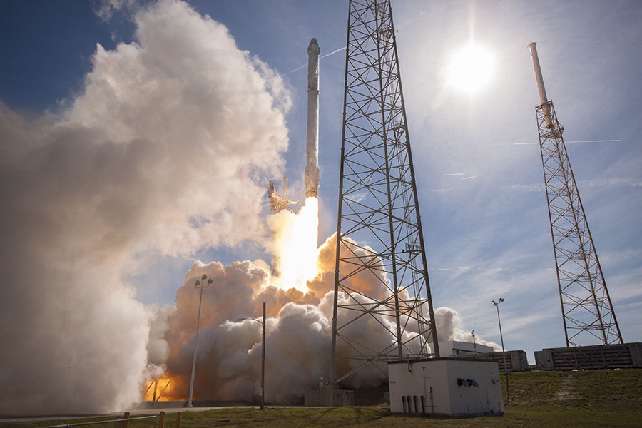 Space X Falcon Heav
