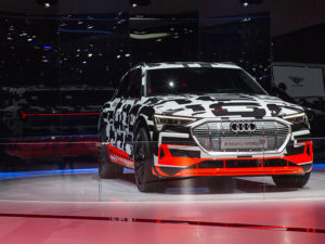 Audi at the 88. International Motor Show Geneva 2018