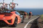 Acura RDX 2019 hace su debut como vehículo oficial de Rally Cycling junto al  NSX